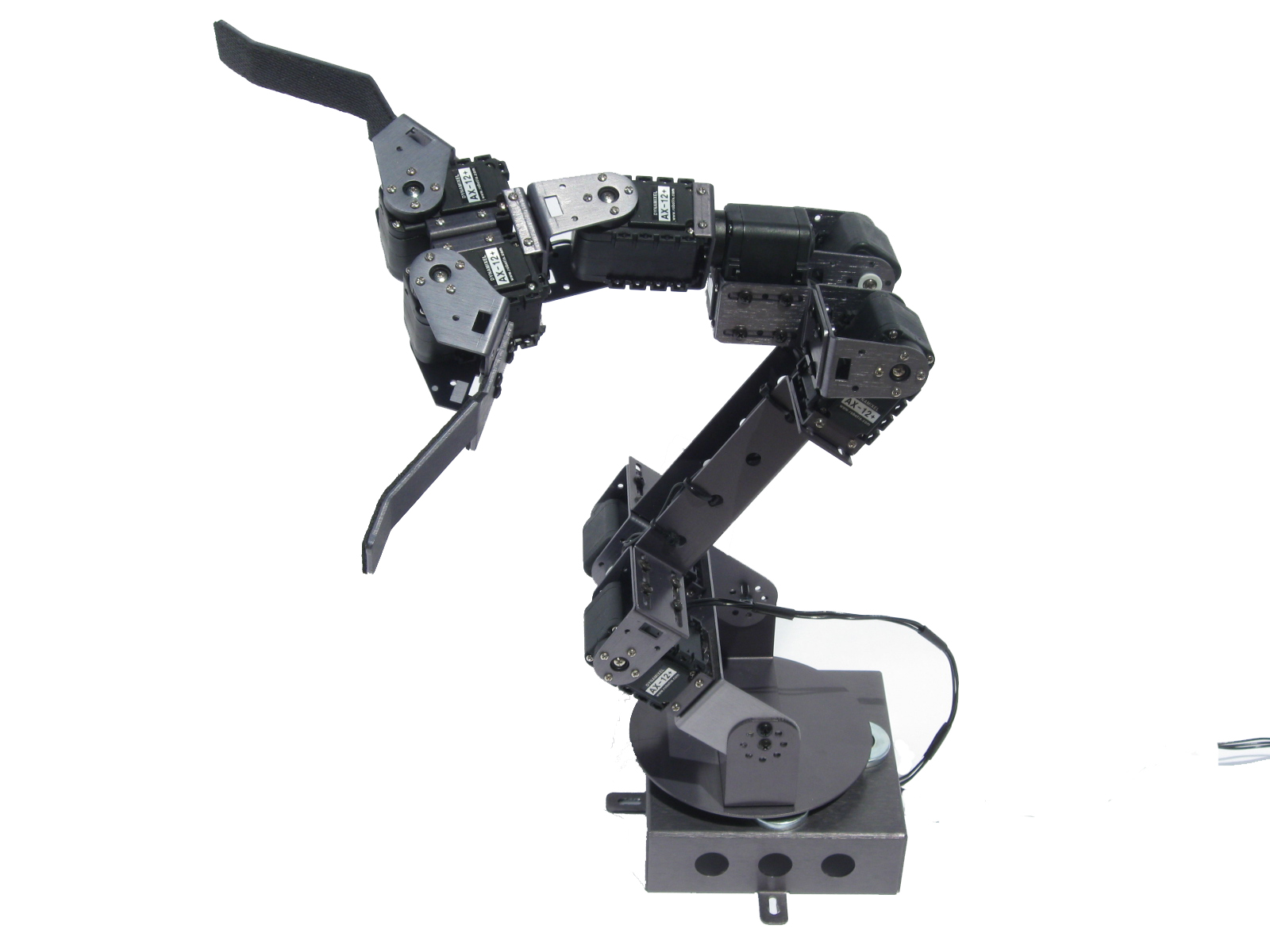 AX-18A Smart Robotic Arm with optional dual gripper and 5-axis upgrade