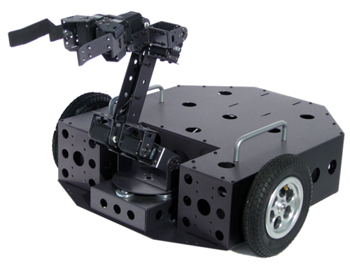 Nomad Rover with AX-12 Smart Robotic Arm