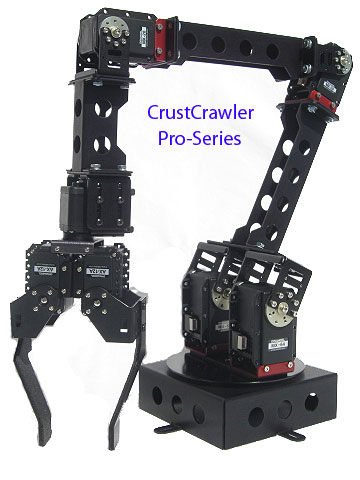 Crustcrawler Pro-Series Robotic Arm Components